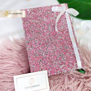 alquran swarovski pink hadiah hantaran_galeriaddeen