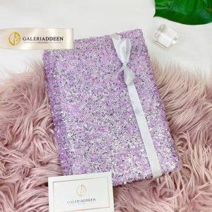 alquran swarovski purple_galeriaddeen hantaran hadiah