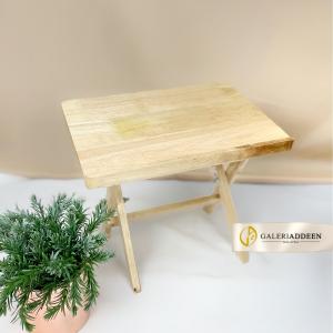 rehal meja kayu getah