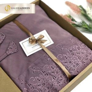 telekung hadiah in dusty purple_galeriaddeen